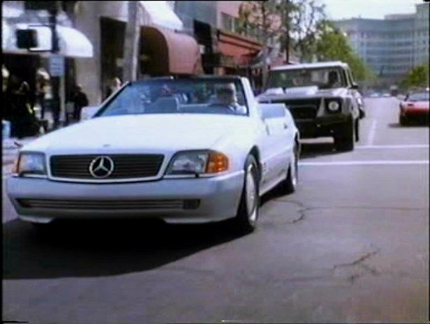 Mercedes 500SL in Death Becomes Her