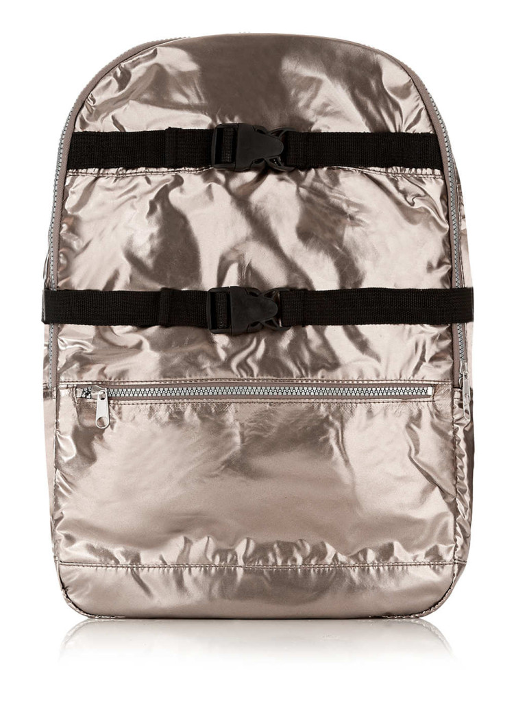 Topman Metallic Backpack