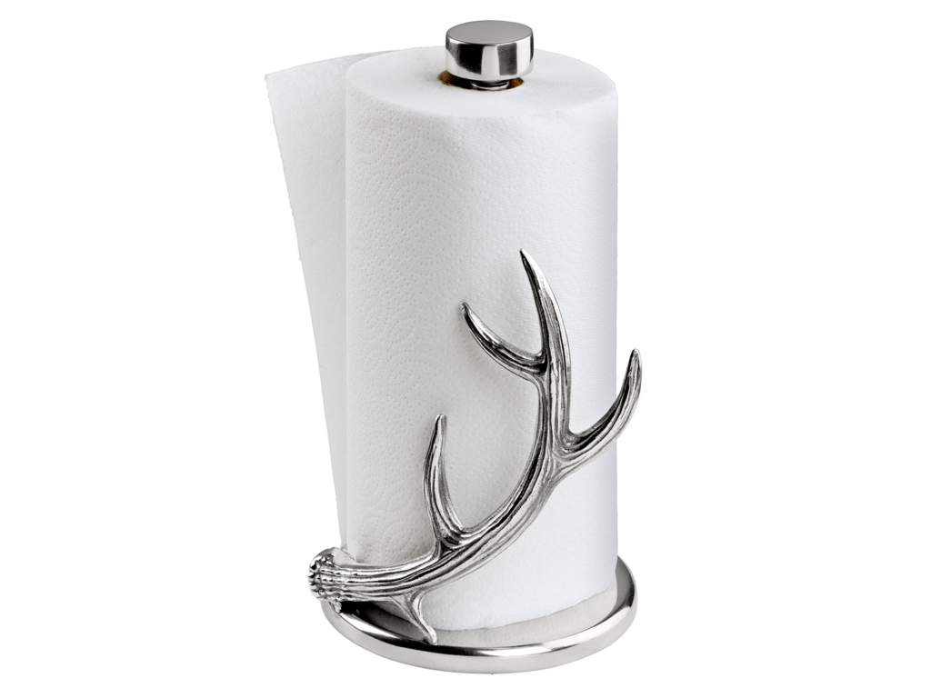 Arthur Court Antler Paper Towel Holder at AHAlife