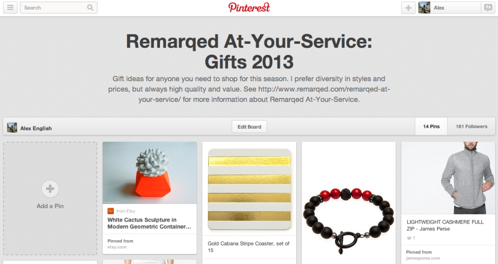 Remarqed At-Your-Service on Pinterest