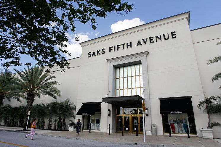 Closed Saks Tampa store