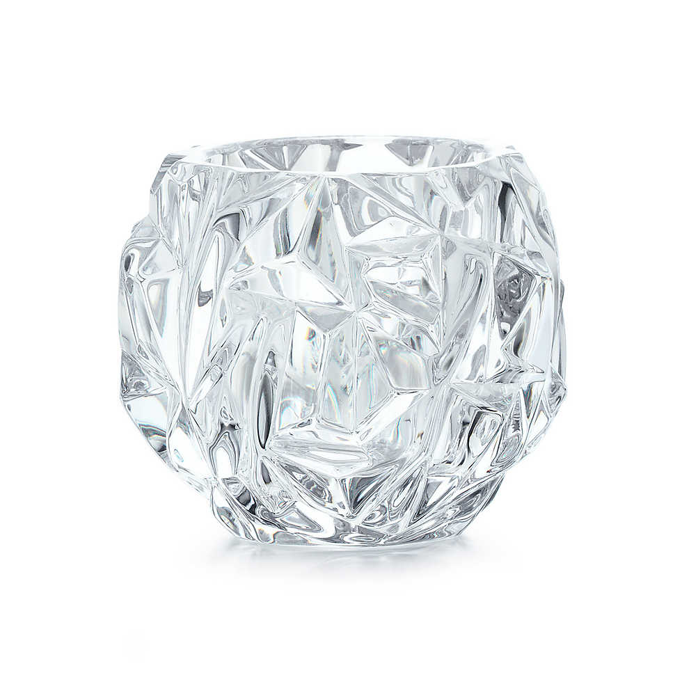 Tiffany Rock Votive in Crystal - a steal