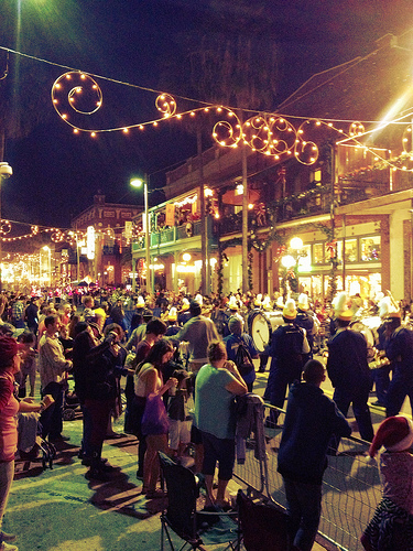 Ybor City holiday parade, last year