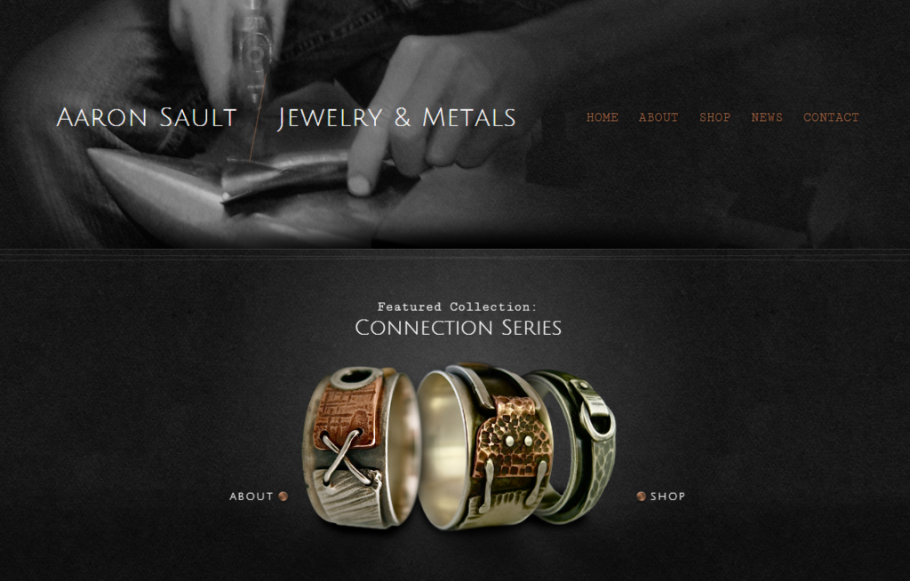 Aaron Sault Jewelry and Metals