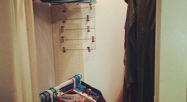 closet clutter control with client emily k.