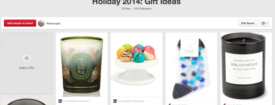 Holiday 2014 Gift Guide