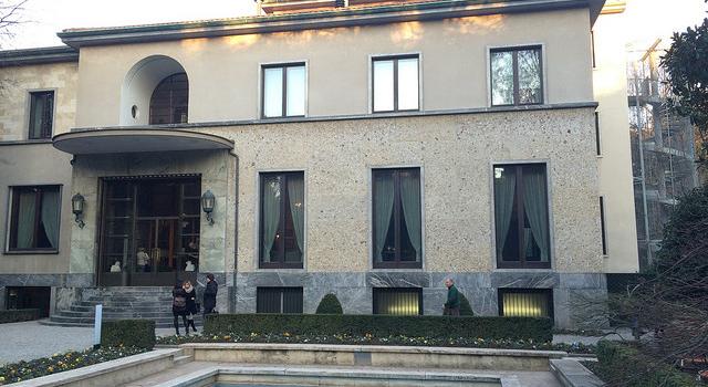 milan's villa necchi