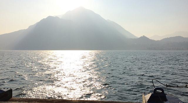 easter on lake como